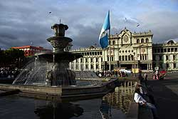 Guatemala Stadt Parque Central